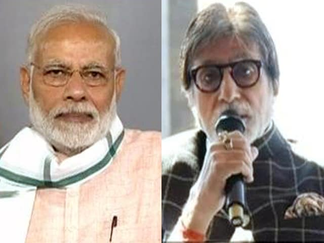 Video : Amitabh Bachchan Lauds NDTV's Swachh India Initiative At #SwachhataHiSeva Launch