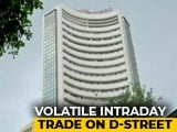 Video : Sensex Gains Some Ground After Plunging 1,100 Points