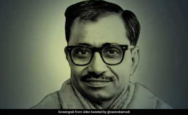 Deen Dayal Upadhyaya Birth Anniversary: Vice President, PM Pay Tribute