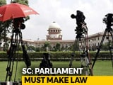 Video : Top Court Says Parliament Should Decide On Law On 'Criminal' Politicians