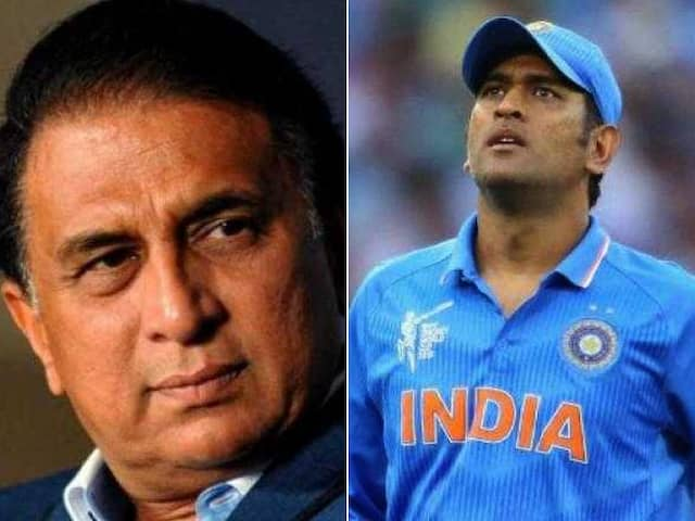 Sunny Gavaskar gives fantastic advice to Dhoni to get back in to form
