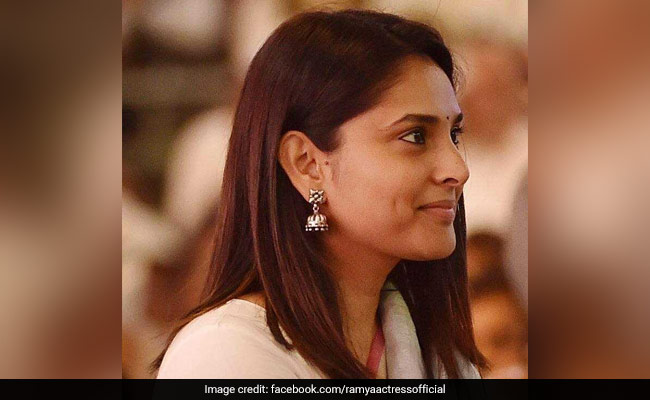 After Sedition Case, Tamil Nadu BJP's Complaint Against Divya Spandana