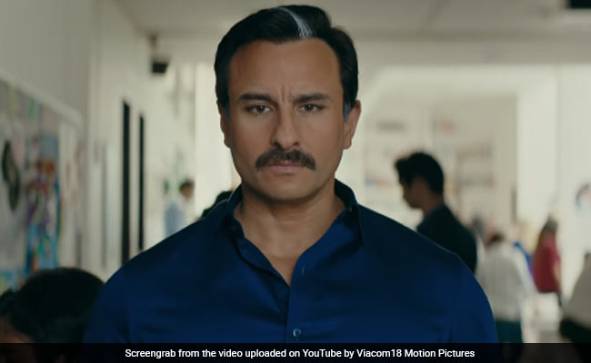 Saif Ali Khan:' As An Actor, I Am Getting Better Each Day'