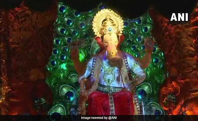 Ganesh Chaturthi: Mumbai's Lalbaugcha Raja First Look, Darshan Timings Revealed