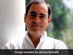 Rahul Gandhi Tweets Montage In Birthday Tribute To Father Rajiv Gandhi