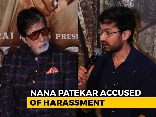 Amitabh Bachchan And Aamir Khan Dodge Tanushree Dutta-Nana Patekar Question