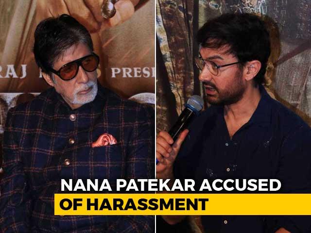 Amitabh Bachchan And Aamir Khan Dodge Tanushree Dutta-Nana Patekar Question