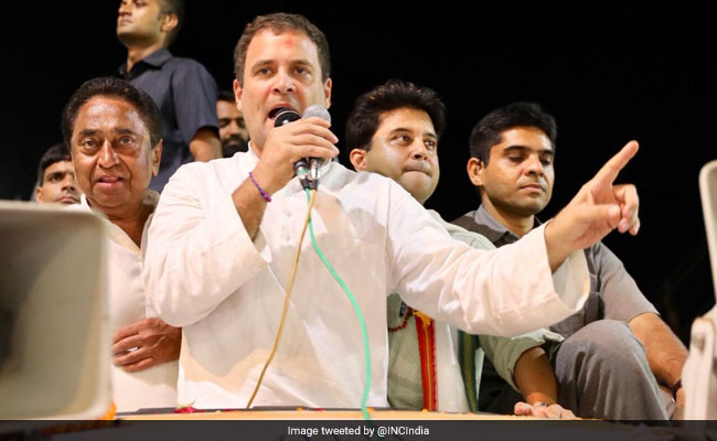 राहुल गांधी बोले- हम चाहते हैं, आपके फोन और शर्ट के पीछे और जूते के नीचे मेड बाई HAL लिखा हो