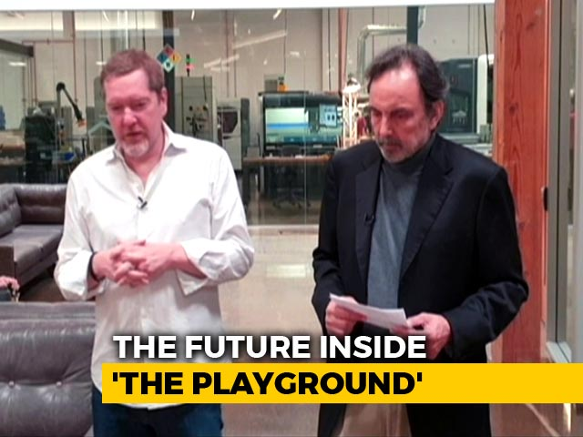 Video : 'Welcome To The Future': Prannoy Roy Speaks To Silicon Valley Innovators