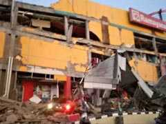 """""""Many"""" Buildings Collapse After 7.5 Magnitude Earthquake Hits Indonesia"""