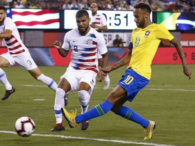 Neymar, Roberto Firmino On Target As Brazil Cruise Against United States