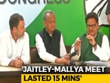 "Video : ""Arun Jaitley Lying, Congress MP Saw Him Meet Vijay Mallya"": Rahul Gandhi"