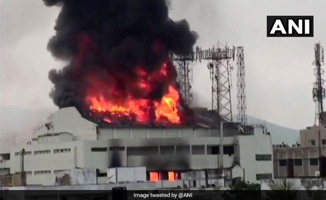 Two Cinema Theatres Destroyed In Fire In Vizag