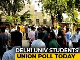 Video : DUSU Election 2018: Polling Begins For Delhi University Students' Union Election