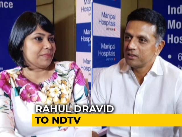 Video : England Series Was A Missed Opportunity For India: Rahul Dravid