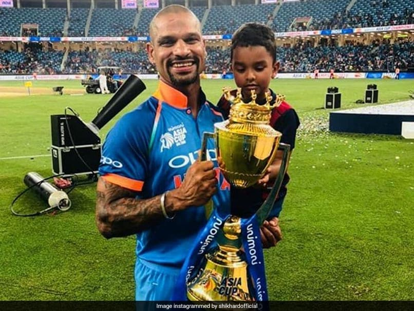"Asia Cup: Shikhar Dhawan Shares His ""Best Moment"" From India vs Bangladesh Final"