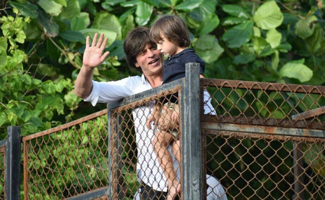 Shah Rukh Khan Just Cannot Wait To Get Back Home And Play With Son AbRam