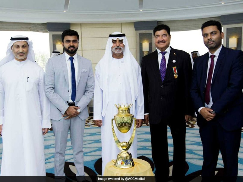 Watch: Asia Cup 2018 Trophy Unveiled In Dubai