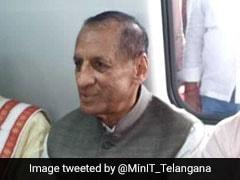 After Inaugurating Metro, Telangana Governor Rides Bicycle To Raj Bhavan