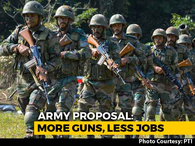 Video : 1.5 Lakh Job Cuts May Give Army Rs. 7,000 Crore To Buy Weapons