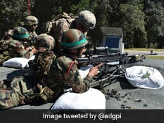 Indian Army, US Troops Play Advanced War Games In Uttarakhand
