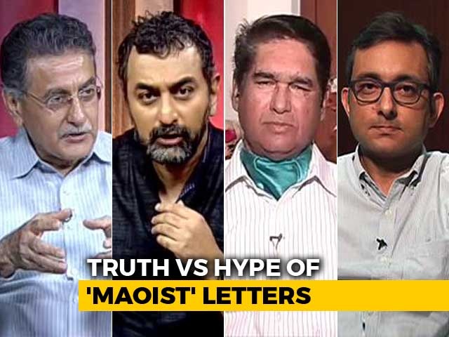 Video : In Activists' Arrest, 13 'Maoist' Letters And Multiple Loopholes