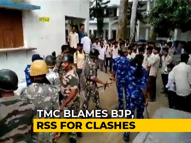 Video : Trinamool Blames RSS, BJP For Clashes In Bengal Over Teacher Appointments