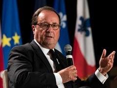 Ex-French Leader Francois Hollande Finds Second Career -- On Stage