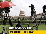 "Video : ""Time Has Come For Parliament To Keep Criminals Away"", Says Supreme Court"