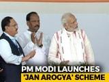 Video : PM Modi Rolls Out World's Biggest State-Run Health Scheme