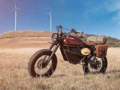Fly Free Smart Motorcycles Reveals Electric Scrambler