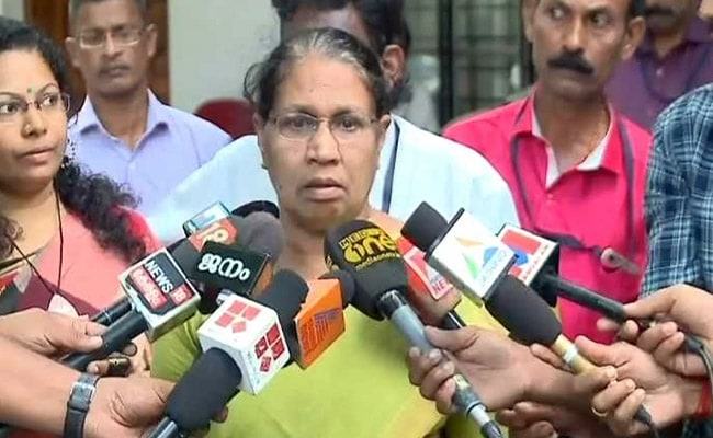 Image result for Mistakes do happen, says Kerala Women's Commission chief on sexual abuse charge against CPM MLA PK Sasi