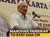 Video : Manohar Parrikar To Stay Goa Boss But Cabinet Changes Soon: Amit Shah