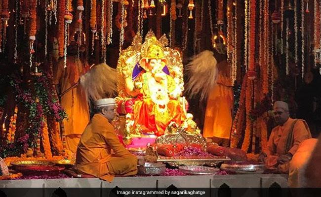 Inside The Ambani S Ganesh Chaturthi Celebrations At Their Mumbai Home