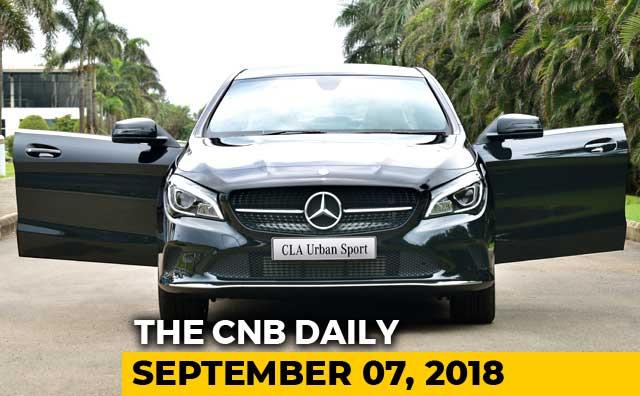 Mercedes-Benz CLA Urban Sport, RE Record, Nissan Kicks