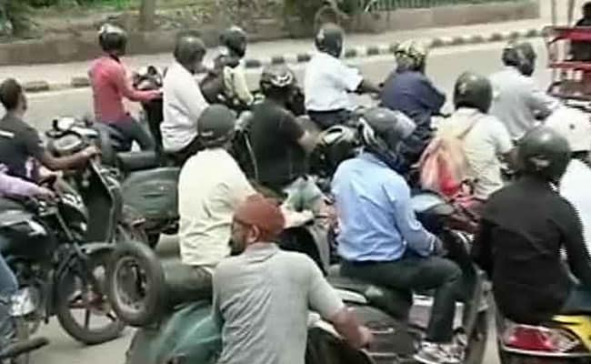 In Karnataka, 3-Month Driving License Suspension For Riding Without Helmet