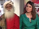 Video : The NDTV Dialogues With Sadhguru Jaggi Vasudev