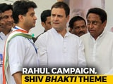 Video: 18-km Roadshow, 'Shiv Bhakt' Posters: Rahul Gandhi's Big Bhopal Show