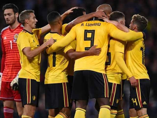 Romelu Lukaku, Eden Hazard Help Belgium Hammer Scotland In International Friendly