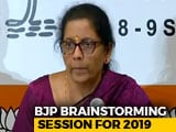 Video : Opposition Unity Is An Eyewash, Says BJP At National Executive