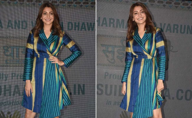 Anushka Sharma Slays This Season's Colour Blocking Trend