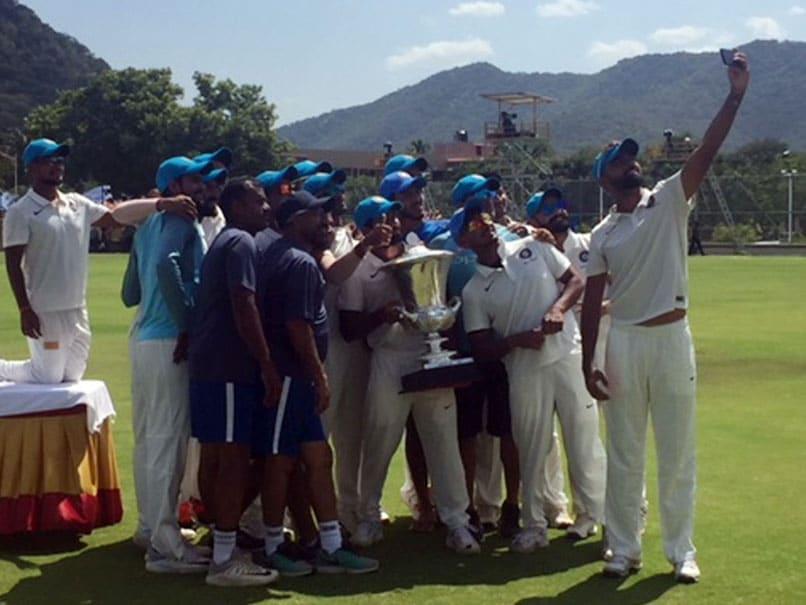 Duleep Trophy: India Blue won the title of prestigious trophy