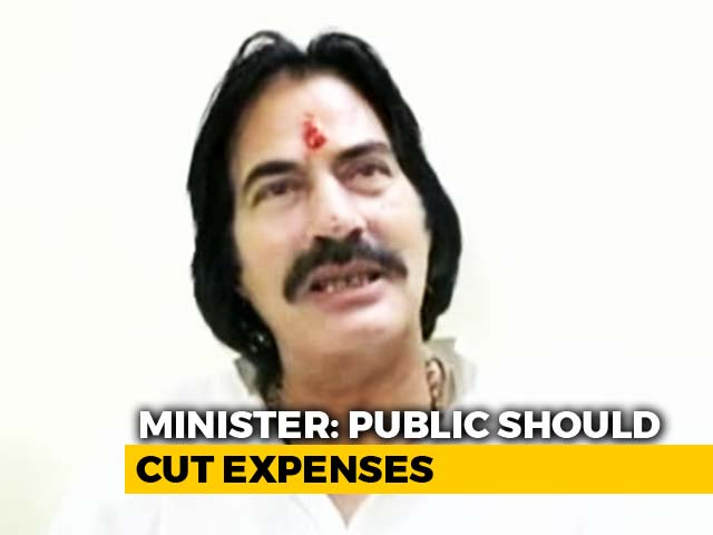 Video : Rajasthan Minister On How To Deal With High Fuel Prices: Cut Corners
