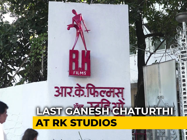 Video : Ganesh Chaturthi 2018: This May Be Bappa's Final Visit To RK Studio