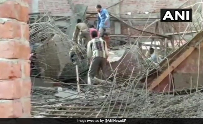 2 Killed After Roof Of Under-Construction Building Collapses In Uttar Pradesh