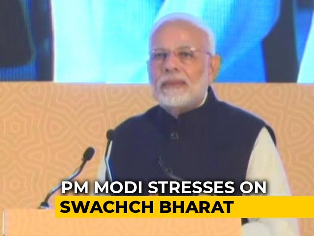 Video : 25 States In India Are Free From Open Defecation: PM Modi
