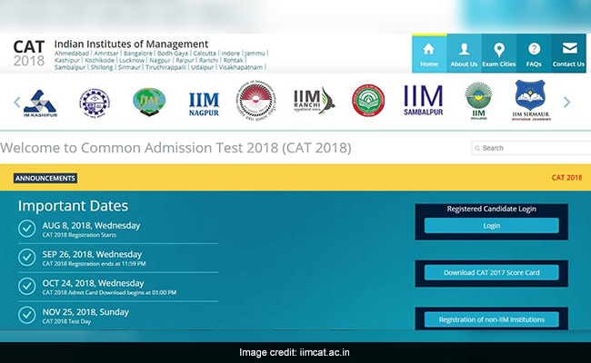 CAT 2018 Tutorial Released Online