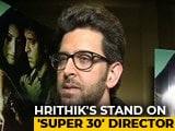 Video : Hrithik Says 'Harsh Stand' Will Be Taken Against Super 30's Vikas Bahl