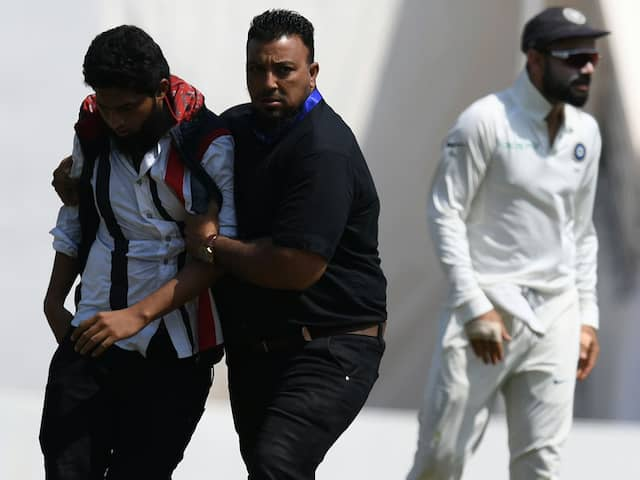 Former India Batsman Expresses Concern Over Pitch Invasions. Twitter Calls It Devotion