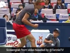 Watch: Alexander Zverev Frightens Ball Boy With Intense Celebration In Hilarious Video